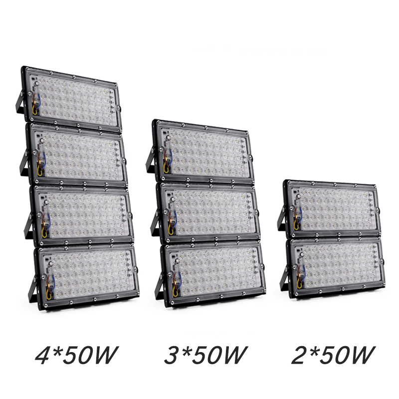 Led Floodlight 50W Waterproof IP65 Garden Lamp Outdoor LED Reflector Light AC 220V 240V Spotlight Street Lighting