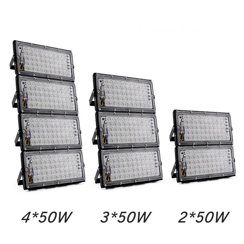 Led Floodlight 50W Waterproof IP65 Garden Lamp Outdoor LED Reflector Light AC 220V 240V Spotlight Street Lighting