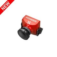 Neue Ankunft Foxeer Falkor 2 FPV Kamera 1200TVL CMOS 1/3 4:3 16:9 PAL/NTSC Umschaltbar G WDR DC 5 40V für Multirotor Racing Drone
