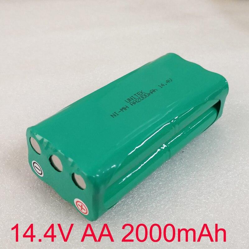 Nuevo 14,4 V AA Ni-MH Pack de batería recargable 2000MAH aspiradora para libero V-M600 M606 vbot T270 T271 S30C VONE T285D