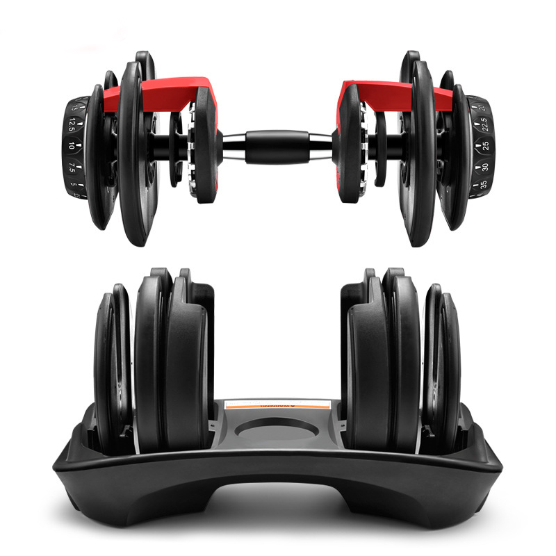DHL Free Weight Adjustable Dumbbell 5 52 5lbs Fitness Workouts Dumbbells tone your strength and build