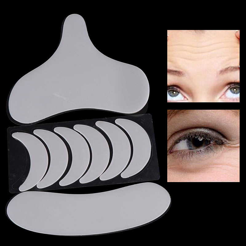 Transparent Anti Wrinkle Neck Pad Silicone Neck Chest Wrinkles Remover Pads Neck Eye Face Skin Lift Anti Aging Treatment Pad