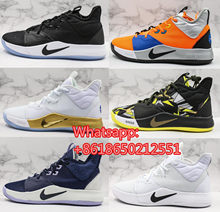 2019 EP Paul George PG 3 3S PALMDALE III P.GEORGE Basketball Shoes Cheap PG3 Starry Blue Orange Red Black Sneakers Size 40-46(China)