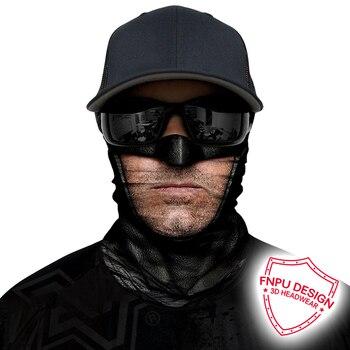3D Seamless Bandana Joker Neck Buffs Bandanas Outdoors Cycling Face Mask Winter Mascarillas Neck Gaiter Headband Skull Scarf Men