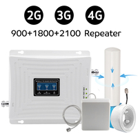 Omnidirectional Outdoor Antenna 900 1800 2100 MHz Signal Repeater GSM Band 8DCS LTE (Band 3) WCDMA (Band 1) Cellphone Booster 70