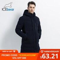 ICEbear 2019 New Winter Jacket Windproof Male Cotton Fashion Men's Parkas Casual Man Coats High Quality Men Coat MWD18826I
