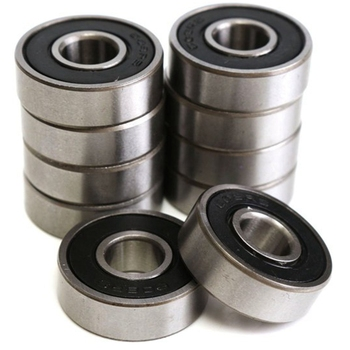 New 100Pcs 608 Skateboard Bearing,Rolling Bearings Black, 8X22X7Mm