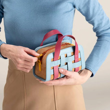 Luxury Brand Handbag Knitting Square Bag Luxury