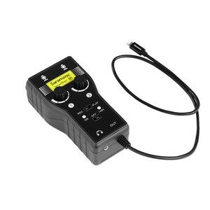 Image 5 - Saramonic Smartrig Xlr Microfoon Voorversterker Audio Adapter Mixer Voorversterker & Gitaar Interface Voor Dslr Camera Iphone 7 7S 6 ipad