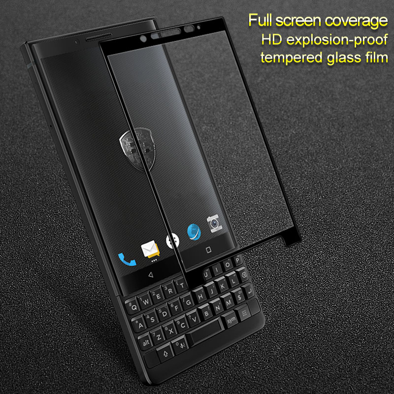 Full Cover Tempered Glass Screen Protector for Blackberry KEY2 LE KEYone DTEK70 Protective Screen Full Coverage(China)