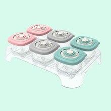 Os recipientes selados dos recipientes do alimento do bebê da caixa dos utensílios de mesa das crianças das crianças da cor dos doces das caixas de armazenamento do alimento do bebê 120ml