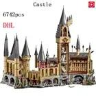16060 Kits Modelo de Potter Movie Magic Castle 6742Pcs Bloco de Construção de Tijolos Brinquedos para Crianças Presente Compatível com 71043 números de casa - 1