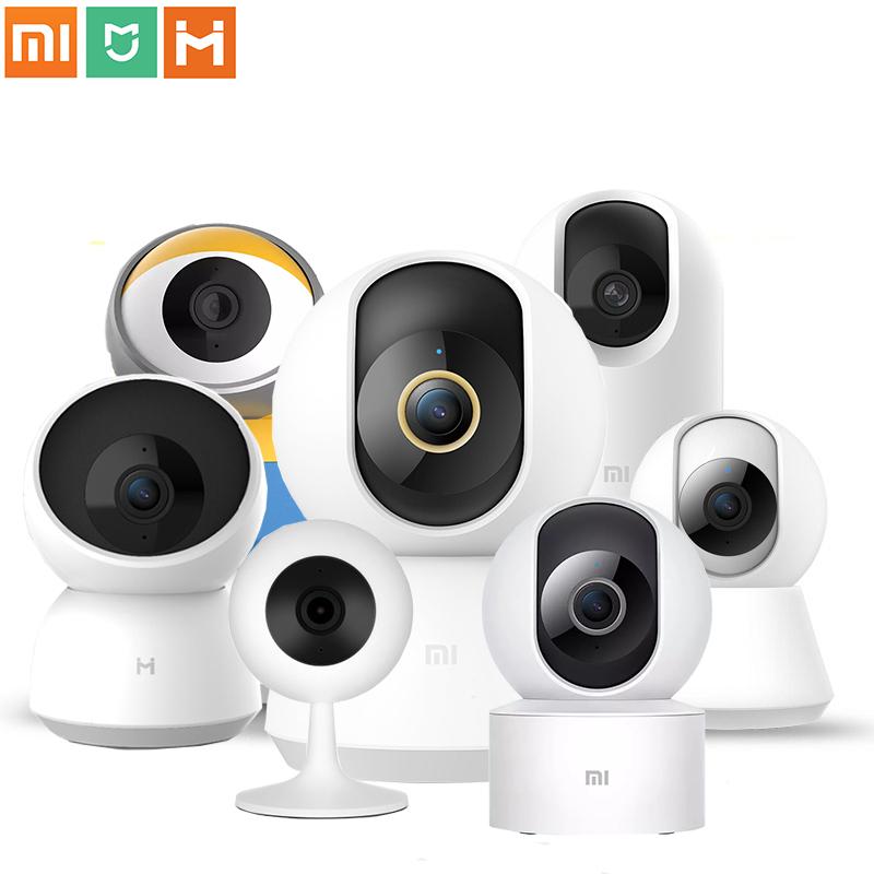 2021 Original Xiaomi Mijia Chuangmi Smart Camera PTZ Version 1080P Night Vision Webcam 360 Angle Camcorder WiFi Wireless Mute