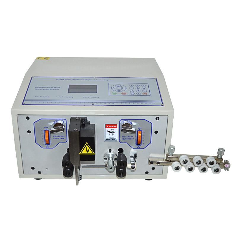 SWT508C-II دستگاه لایه برداری خودکار رایانه ای دستگاه سلب سیم / سیم کشی الکتریکی / برش لوله برقی سیم
