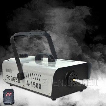 цена на High Power 1500W Stage Remote Control Smoke Machine Bar Smoke Machine Cigarette Making Machine Atomizer Stage Lighting Tools