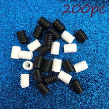 200pcs Mask Elastic Adjustment Ear Cord Buckle No Slip Button Cord Lock Stopper Ends Buckle Elastic Cord Buckle Diy Mask Supplie