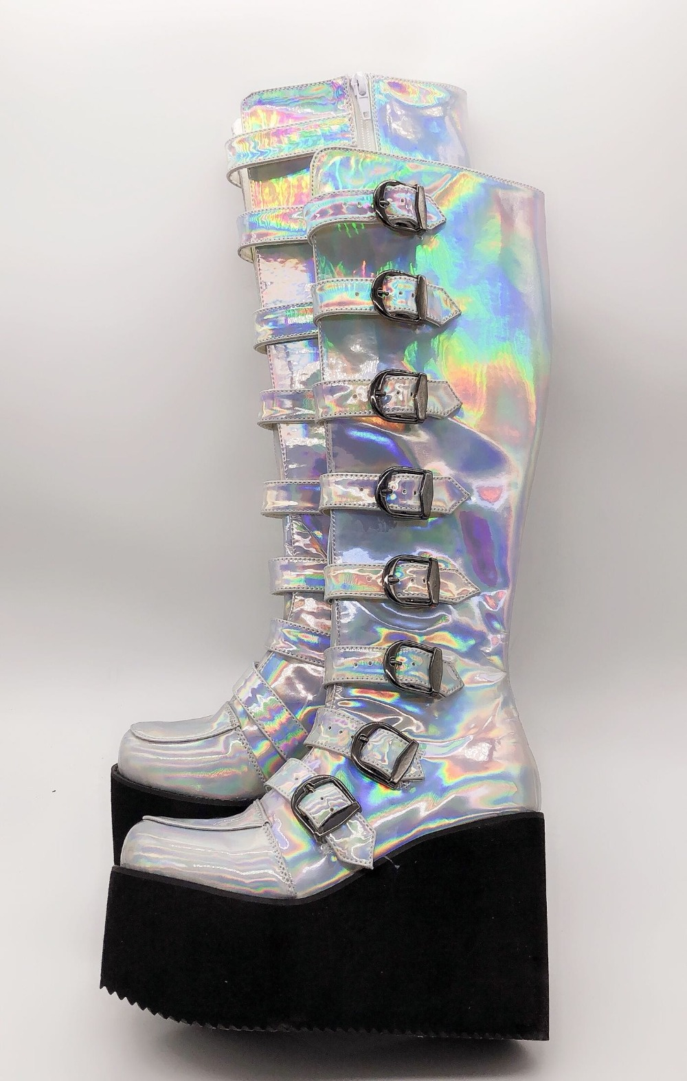 Colorful-High-Platform-Knee-High-Boots-Lolita-Cosplay-Show-Buckle-Strape-Lace-up-Thigh-Boots-Custom-Exclusive-4