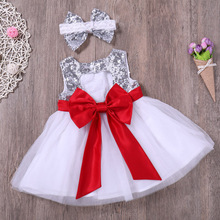 цена на Kaguster Baby girls Birthday dresses Cute Ribbons tutu Summer princess dress elbise wedding vestido infantil toddler girl lol