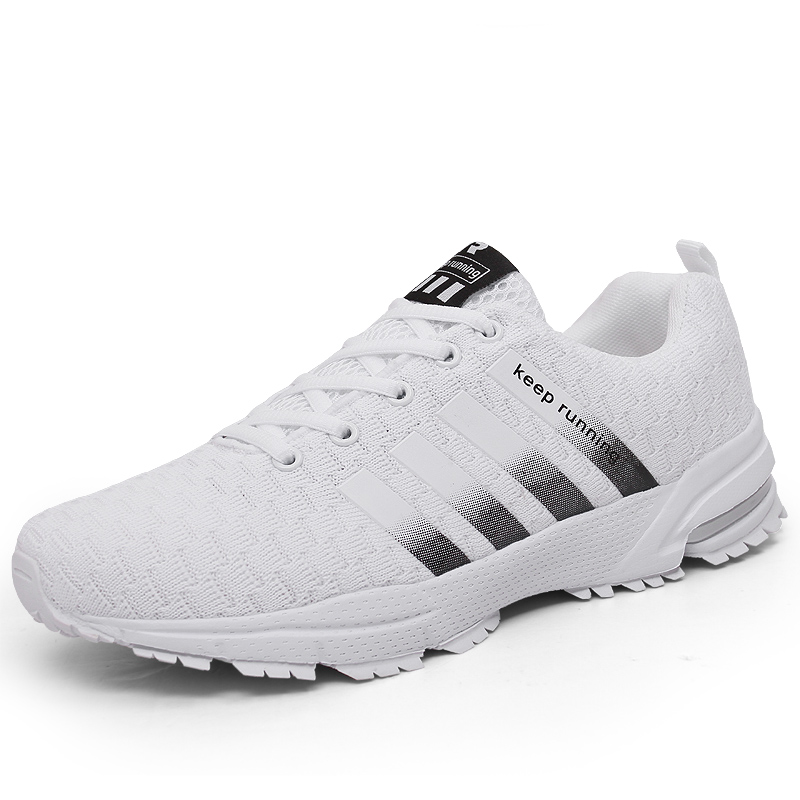 Running Shoes New 2020 Men Breathable Outdoor Sports Shoes Lightweight Sneakers For Women Comfortable Athletic Training Footwear