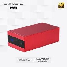 新バージョンsmslサンスクリット10th SK10 mkii hifiデコーダーAK4493 DSD512オーディオdacチャンネルプリアウト加速度センサーのサポートotgリモート制御