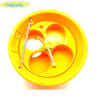 Capsule ball machine 100mm/75mm capsule ball Plastic bucket Toy 5 hole coin hopper DC12V or 24V Motor For Children's game machin