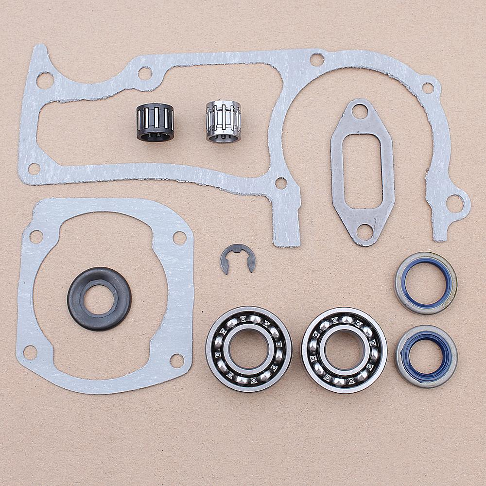 Engine Gasket Bearing Oil Seal Kit For Husqvarna 372XP 372 371 365 362 Chainsaw 503 64 72-01, 738 22 02-25, 503 96 15-01