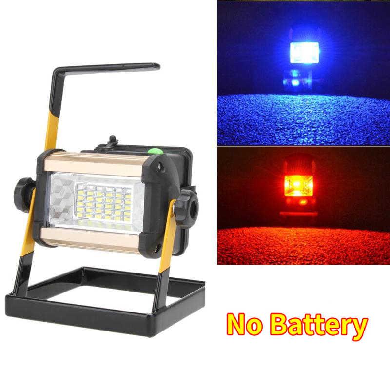 Proiettore ricaricabile lampada da lavoro a LED portatile Focus 2400LM faretto faretto da lavoro Spot da lavoro lampade da campeggio all'aperto caricabatterie IP65