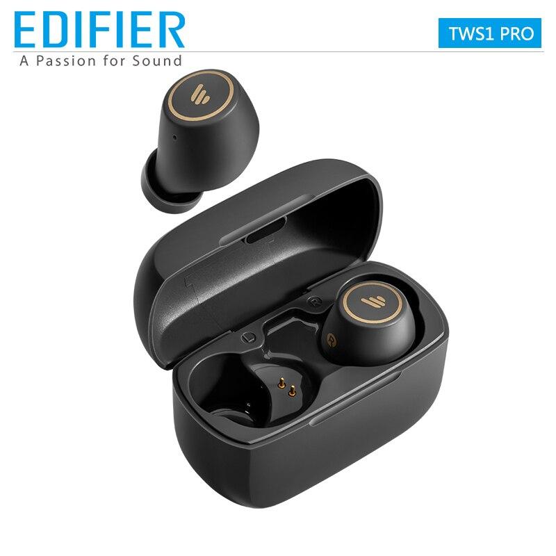 Bluetooth-наушники EDIFIER TWS1 Pro, TWS, aptX, 42 часа воспроизведения, быстрая зарядка