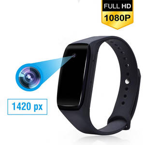 Wristband Bracelet Camcorder Camera Wearable-Device 1080P HD