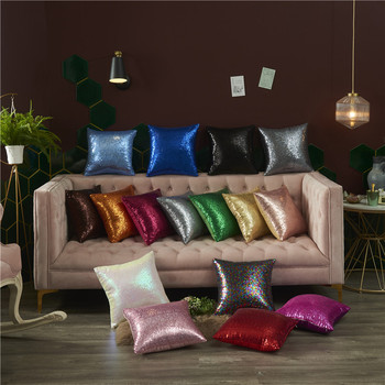 Decorative Pillow Cover 40x40 Sequin Cushion Cover Luxury Sofa Decoration Pillowcase Throw pillows Home Decor Pillow Cases harry styles decorative pillowcase harry cushion cover cotton linen throw pillows sofa pillow home decor