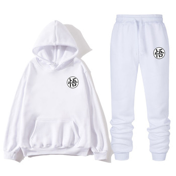 Men's autumn and winter new hoodies fashion trend slim sports shirt Wu hip-hop street print pullover hoodie suit new winter 2020 street hip hop gray letter star print oversize hoodie hoodie with plush