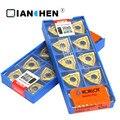 Оригинальный Корея KORLOY WNMG080404-HA NC3020 WNMG080404-HA PC9030 WNMG080404-HM NC3020 (10 шт./лот) резец для внутренней обточки вставки