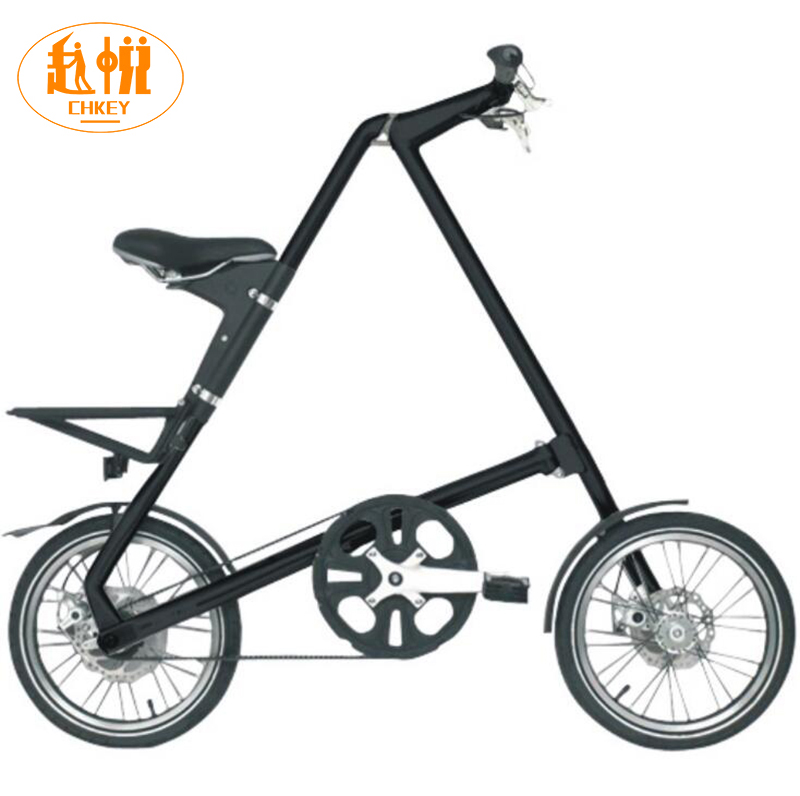 Light weight Smart SLIDA folding <font><b>bike</b></font> Folding Bicycle 16 Inch size Complete Road mini <font><b>Bike</b></font> Aluminium Frame New Creative In Car image