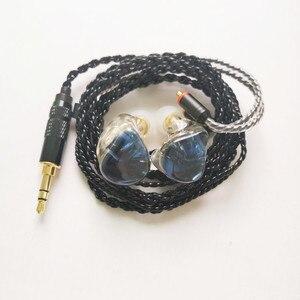 Image 4 - A3 HIFI 1BA+1DD Hybrid Earphone MMCX 2PIN Powerful Stereo Hi Res Earbud Resin Custom Made Headphone DJ Monitor Stage Headset IEM