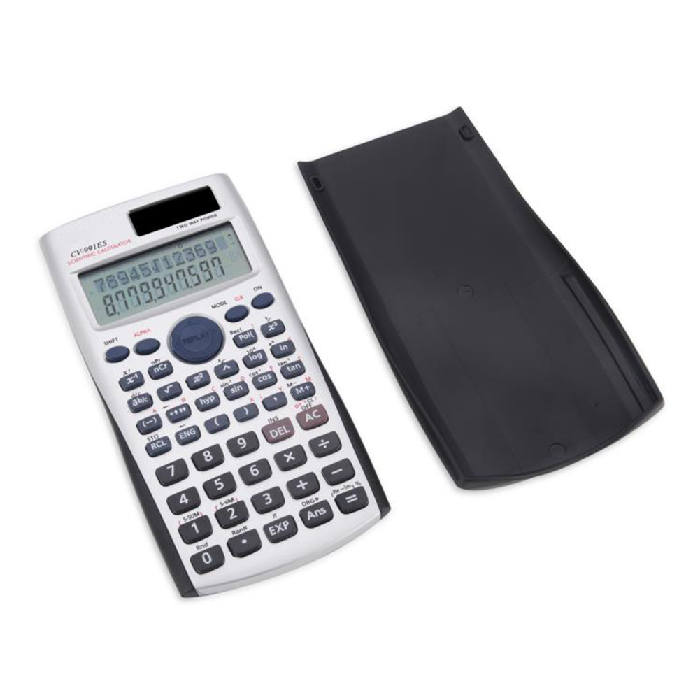 Scientific Calculator Muti-function Calculator Financial Accounting Tool with Two Way Power for Mathematics Teaching image