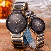 rado Luxury Brand quartz women Watches Quartz Watch Stainless Steel Strap wristwatch classic business dress men watch 6421