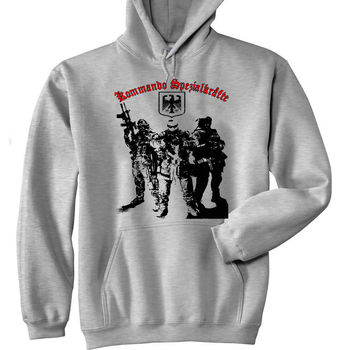 2020 KSK GERMAN SPECIAL FORCES NEW COTTON GREY Men HOODIE ALL SIZES IN STOCK