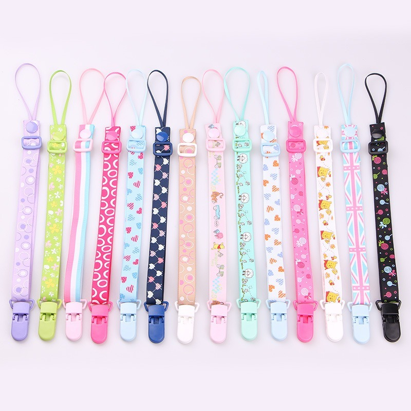 43 Styles Baby Pacifier Clip Chain Dummy Holder For Nipples Children Pacifier Clips Pacifier Holder Adjustable Holder For Nipple