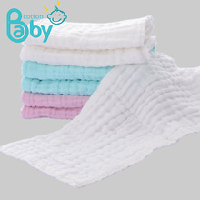 18*45CM Baby Diaper Inserts stuff Nappy Repeated Use Gauze Cloth cover Muslin Cotton Reusable Newborn Diapers  0-3 M