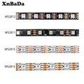 WS2812B WS2811 WS2813 WS2815 30/60/пикселей/светодиодный s/m RGB светодиодный полосы индивидуально адресуемых лента светильник IP30/IP65/IP67 DC5V DC12V