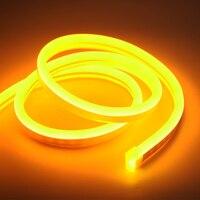 12V Led Streifen Wasserdichte Led Neon Licht Bunte Warm Weiß Rot Blau Led Band Licht 2835 120Led/m silikon Rohr DIY Home Decor