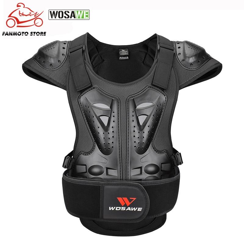 Мотоциклетная куртка для взрослых, протектор для груди и спины, бронированная защита для гоночного тела, защитная куртка для мотокросса