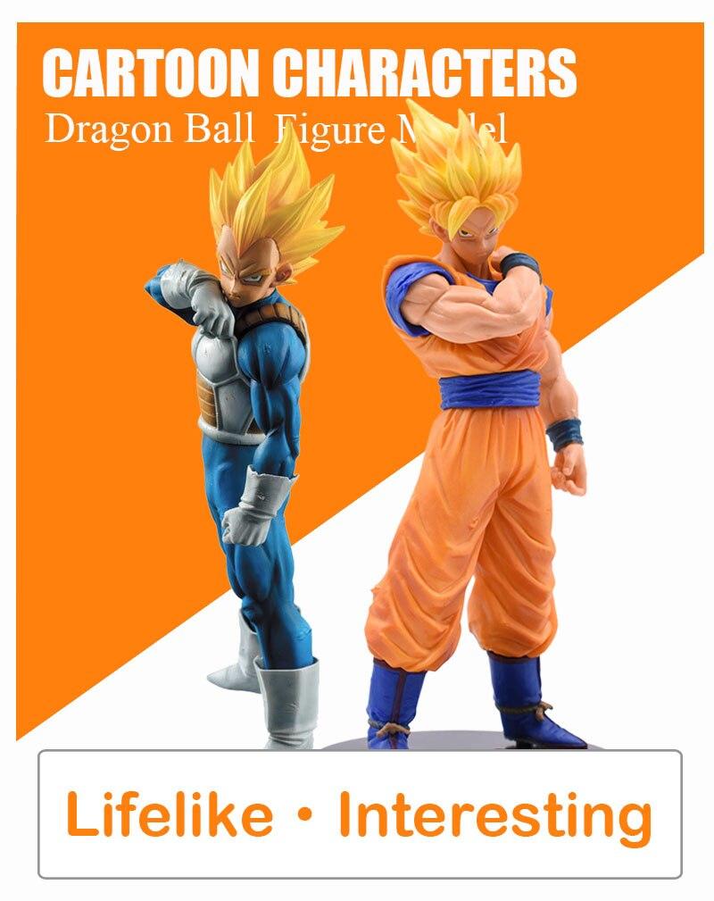 Dragon Ball Goku Vegeta Action Figure Super Saiyan PVC Collection Model Toys For Christmas Gift With Box 15-21cm