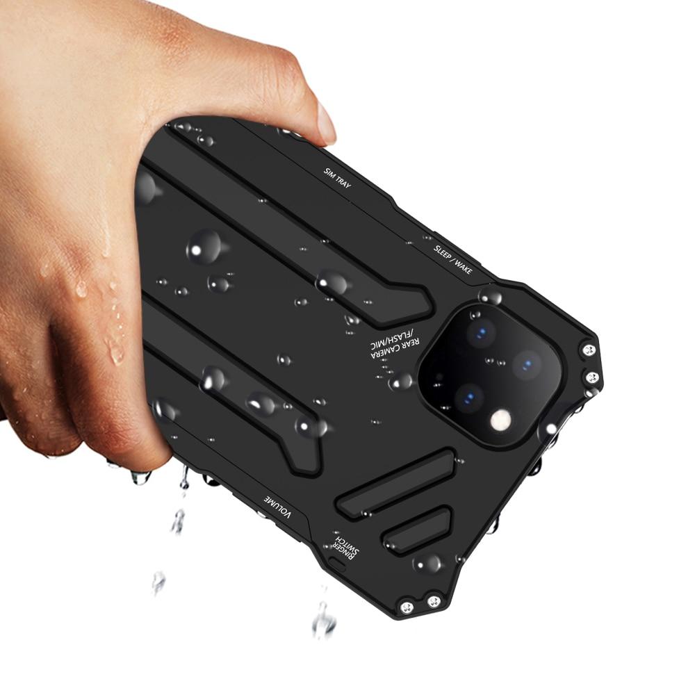 R-JUST Rüstung Aluminium Metall Abdeckung Fall für iPhone11 11 Pro Max 11 Pro XS XR Telefon Fällen Gundam Leben Wasserdicht stoßfest