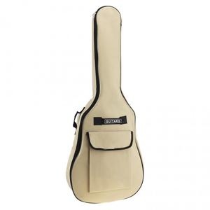 Image 5 - 40/41 Inch Oxford Fabric Acoustic Folk Guitar Bag Case Gig Bag Double Straps Padded 5mm Cotton Soft Waterproof Backpack