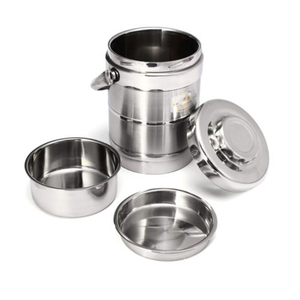 Image 1 - 1.6/2.0L healthy Material Vacuum Insulated thermos Lunch Box Stainless Steel Thermal Food Jar Vacuum Thermos Insulated LunchBox