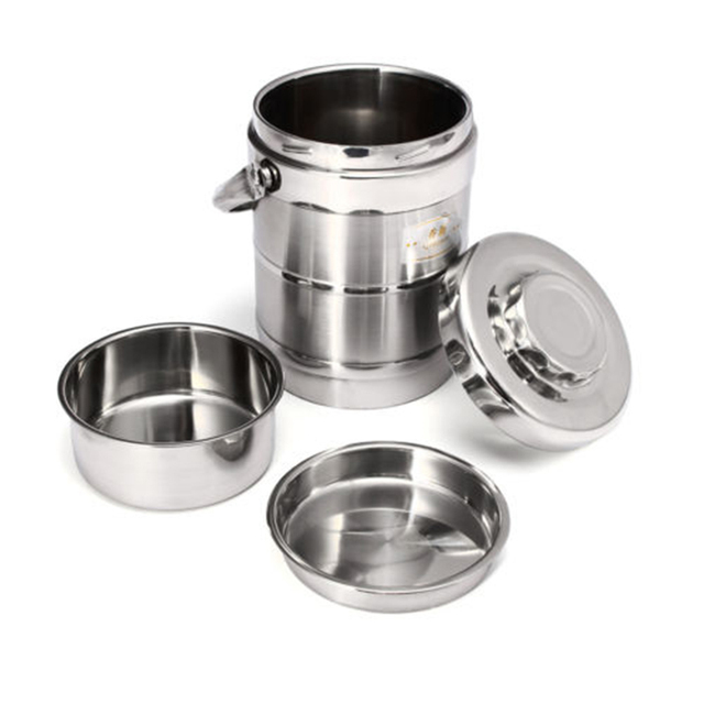 1.6/2.0L healthy Material Vacuum Insulated thermos Lunch Box Stainless Steel Thermal Food Jar Vacuum Thermos Insulated LunchBox