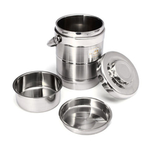Fiambrera térmica de acero inoxidable, fiambrera aislante al vacío de Material saludable, 1,6 l