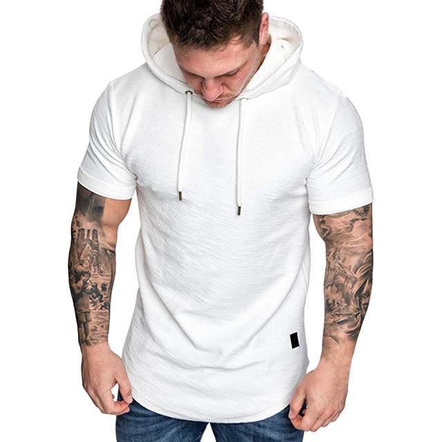MRMT 2021 Brand New Mens Hoodies Sweatshirts Short Sleeve Men Hoodies Sweatshirt Casual Solid Color Man hoody For Male Hooded 4