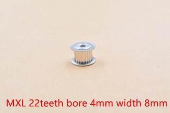 AF type MXL Timing Pulley 22 teeth Bore 4mm for width 8mm Synchronous Belt Small backlash 22Teeth image